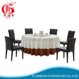 Metal plegable mesa de comedor con mesa de PVC