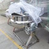 Misturador de alimento da qualidade superior aquecido/chaleira Jacketed do vapor/potenciômetros de cozimento industriais com misturador