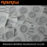 Anti-Déplacer l'étiquette de collant d'IDENTIFICATION RF pour la garantie de produit de médecine
