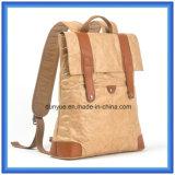 Mochila de papel DuPont fábrica Personalizado Nuevo material bolso ocasional, bolso de hombro Promoción Tyvek doble de papel con la correa ajustable