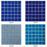 Color del azul de la baldosa cerámica