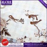 Azulejo esmaltado de cerámica impermeable de la pared de la cocina 300X600 y del cuarto de baño de Foshan