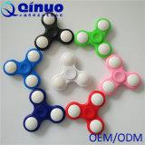 Van de LEIDENE van de regenboog Vingertop EDC van de Spinner van de Hand Vinger van de Gloed friemelt de Tri het Stuk speelgoed van de Gyroscoop van de Nadruk
