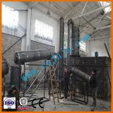 装置をリサイクルする使用されたエンジンオイルが付いている機械をリサイクルする不用なエンジンオイル