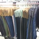 pantalones vaqueros negros de las señoras 10.2oz (HYQ97-08GDT)