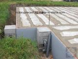 屋根および床のための空の平板の工作機械