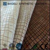 Cuero sintetizado impermeable Semi-PU para los zapatos/los bolsos/sofá