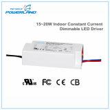 Fuente de alimentación constante de interior de la corriente 15~20W Dimmable LED