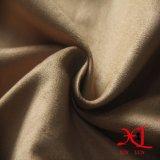 Полиэфир 100% одна бортовая ткань замши для одежды/ботинок