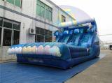 Corrediça inflável do tema da baleia, corrediça de salto em vendas