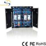 Difficulté P10 polychrome extérieure annonçant l'Afficheur LED