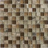 Le verre cristal du crépitement 25*25 couvre de tuiles la mosaïque pour la décoration neuve