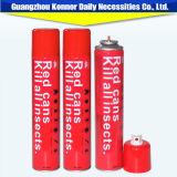 El rojo conserva el aerosol repugnante del insecticida del aerosol del aerosol del mosquito del aerosol