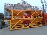 Beton-proportionieren/stapelweise verarbeitende Pflanzenmaschine der Deutschland-Technologie-PLD800 mit zwei Zufuhrbehältern