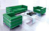 Mercado al por mayor de China de la venta al por mayor de cuero moderna del sofá de los muebles de la sala de estar (UL-NS052)