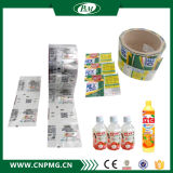 Étiquette manuelle de chemise de rétrécissement de PVC/Pet