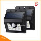 Nuova lampadina del sensore autoalimentata solare di movimento dei 8 LED per illuminazione Emergency del punto di via esterna del giardino