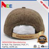 PUの革バックルのわらの急な回復の帽子のパッチのロゴを使って