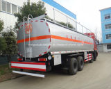 40 Cbm Tankwagen van de Brandstof van Dongfeng de Op zwaar werk berekende 40000 L van de Tanker