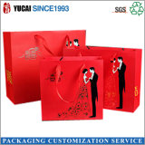 Bolsos indios del regalo de boda de las bolsas de papel rojas creativas
