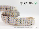 3528 tira flexible 12/24V IP67 RGB de la cinta del alto brillo LED