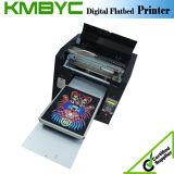 Impresora plana de la camiseta de Digitaces para el diseño de la camiseta