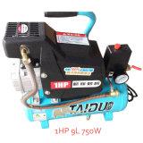 1HP 550W Minischrauben-Druck-bewegliche Handluftpumpe