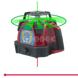 nivel del laser 300hvg con la nivelación automática de la pista del laser de la rotación del paquete de la pila seca