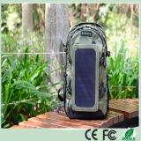 saco solar da trouxa do carregador da trouxa solar ao ar livre do verde do exército de 35L 6.5W com o painel solar removível para dispositivos telefones/5V da pilha (SB-168)