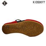 Chaussures de toile de marche de sports d'enfants de fille