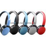 Auricular atado con alambre radio estérea sin hilos estérea del jugador FM del auricular V4.2 MP3 de Bluetooth