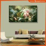 UV напечатанная западная картина на панели стены для домашнего украшения