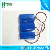 батарея 18650 2500mAh 2s1p Li-иона для светов СИД