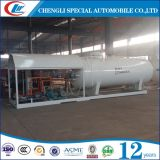 Small 5t LPG Home Cooking Gas Cilindro Enchimento Skid