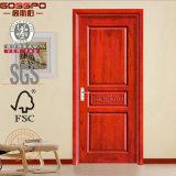 Antikes Panel-Innenhaus-Tür des festen Holz-3 (GSP2-023)