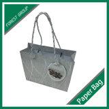 Papel brillante de plata especial cesta de la compra