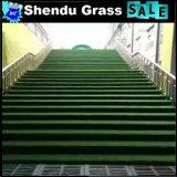 Tapete da grama verde para o assoalho 20mm com furos de dreno