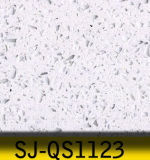 Superfície elegante de quartzo, pedra artificial de quartzo para bancadas