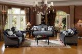 Presidenza classica della sede di amore dell'oggetto d'antiquariato del sofà del tessuto per mobilia domestica