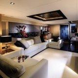 Cuoio della mobilia dell'unità di elaborazione del sofà
