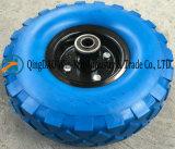 트롤리를 위한 10*4.10/3.50-4 PU 거품 바퀴