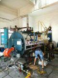 petróleo de gás automático de 1ton 2ton 4ton 6ton 8ton 10ton - caldeira de vapor despedida