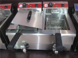 Commerciële Frituurpannen voor het Braden van Voedsel (grt-E34V)