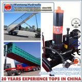 トラックの機械装置および手段のための多段式望遠鏡の水圧シリンダ