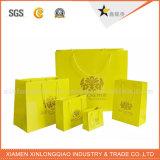 Оптовая продажа фабрики рециркулирует бумажный мешок подарка с логосом компании