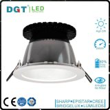 Cubierta de aluminio redonda ahuecada de interior LED Downlight de la MAZORCA LED Downlight del techo 33W