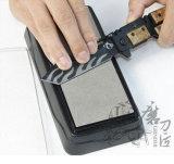 倍はダイヤモンド石造りのナイフのWhetstoneを削る味方する