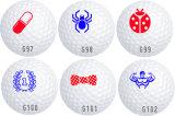 Sellos de aluminio de la pelota de golf