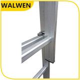 Aluminium-Strichleiter des heißer Verkaufs-starke bewegliche flexible teleskopische Jobstepp-2*8