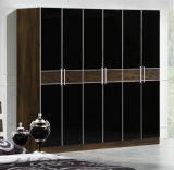 専門MDFのドアのワードローブのベッドフレームの居間の家具